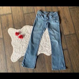 Seven 7 Jeans Flare Size 27 Light Blue Wash